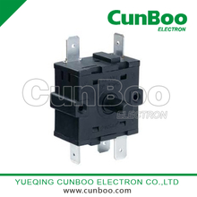 China Square rotary switch,Rotary switch used for household